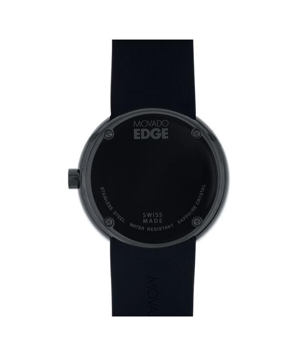 MOVADO 摩凡陀瑞界系列 (Movado Edge)3680145 – 男士40毫米表链腕表 - 后视图