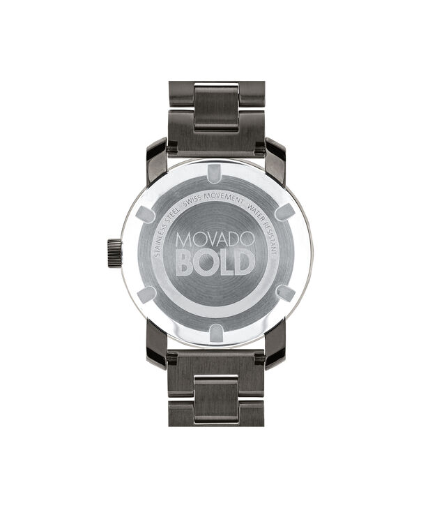 MOVADO 摩凡陀波特 (Movado Bold)3600103 – 36毫米金属表链腕表 - 后视图