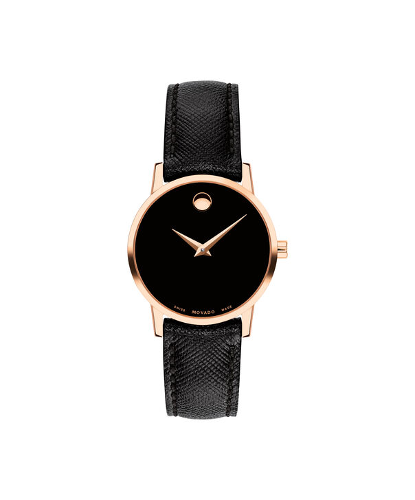 MOVADO Museum Classic0607206 – Women's 28 mm strap watch - Front view