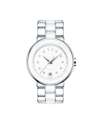 MOVADO Cerena0606540 – Women's 36 mm bracelet watch - Front view