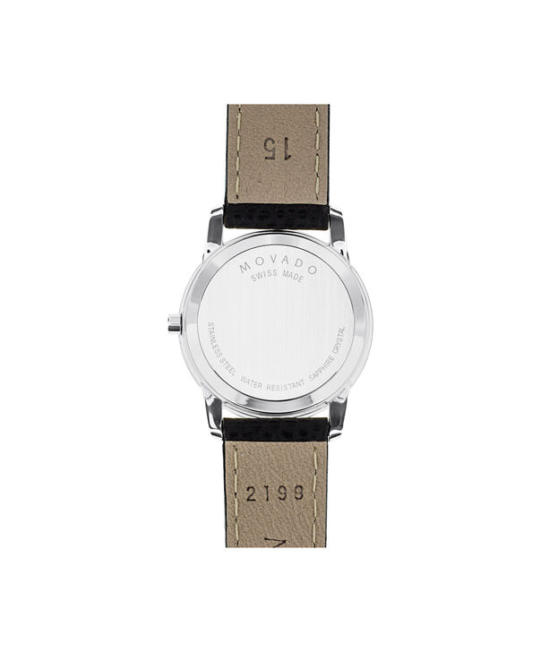 MOVADO Museum Classic0607015 – Women's 28 mm strap watch - Back view