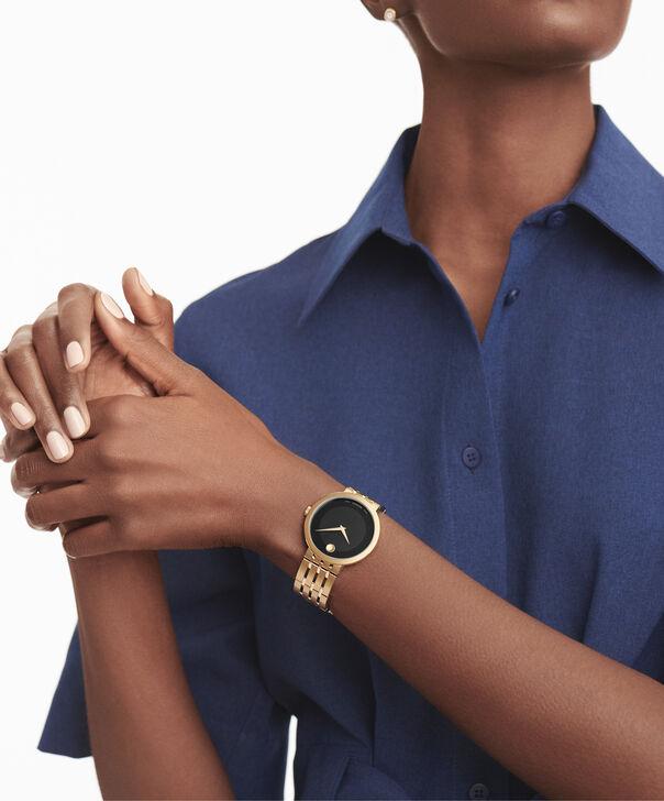 MOVADO 爱莎 (Esperanza)0607058 – 男士39毫米表链腕表 - 另一种观点