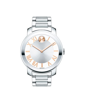 MOVADO Movado BOLD3600196 – 39 mm Luxe bracelet watch - Front view