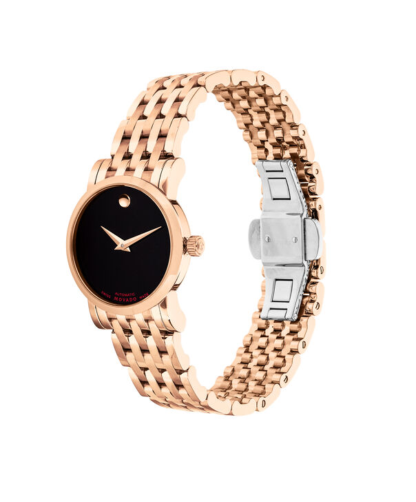 MOVADO 瑞红 (Red Label)0607064 – Women's 26 mm automatic bracelet watch - 侧面图