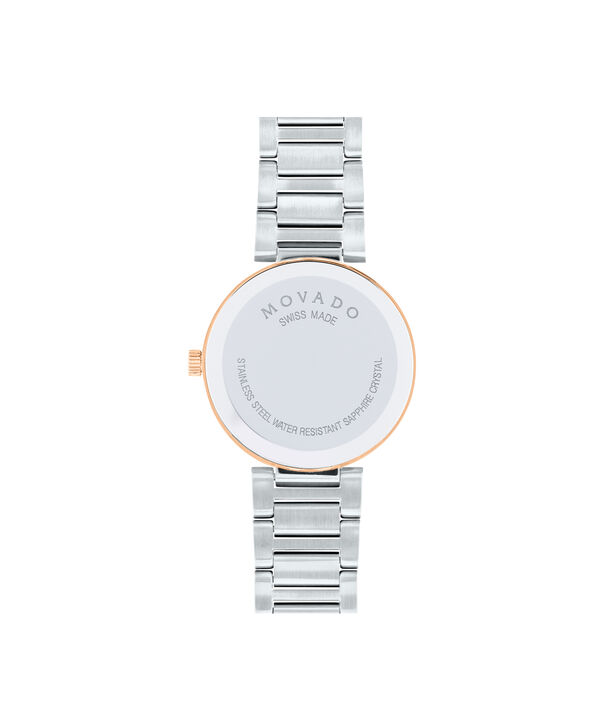 MOVADO Modern Classic0607134 – Women's 28 mm bracelet watch - Back view
