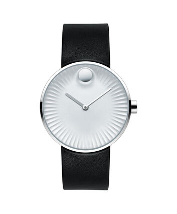 MOVADO Movado Edge3680001 – Men's 40 mm strap watch. - Front view