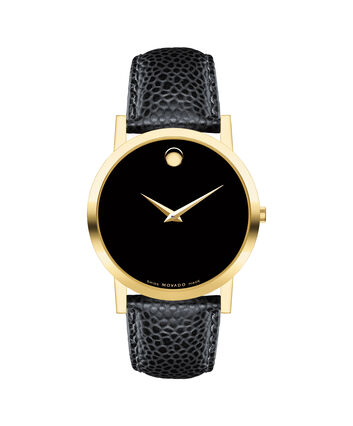 MOVADO Museum Classic0606180 – Men's 38 mm strap watch - Front view