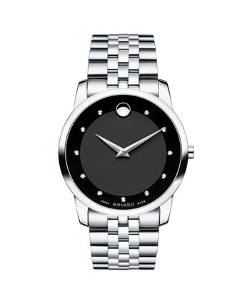 MOVADO Museum Classic0606878 – Men's 40 mm bracelet watch - Front view