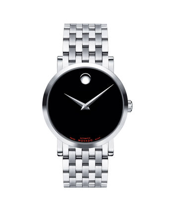 MOVADO Red Label0606115 – Men's 38 mm automatic bracelet - Front view