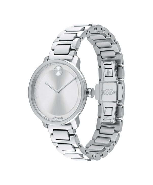 MOVADO Movado BOLD3600501 – 34 mm Metals bracelet watch - 侧面图