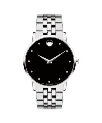 MOVADO Museum Classic0607201 – Men's 40 mm bracelet watch - 正视图