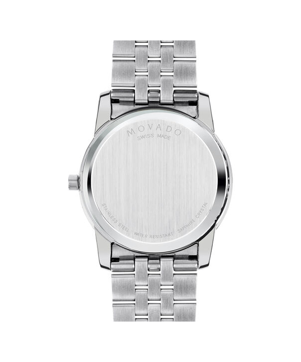 MOVADO Museum Classic0606878 – Men's 40 mm bracelet watch - Back view