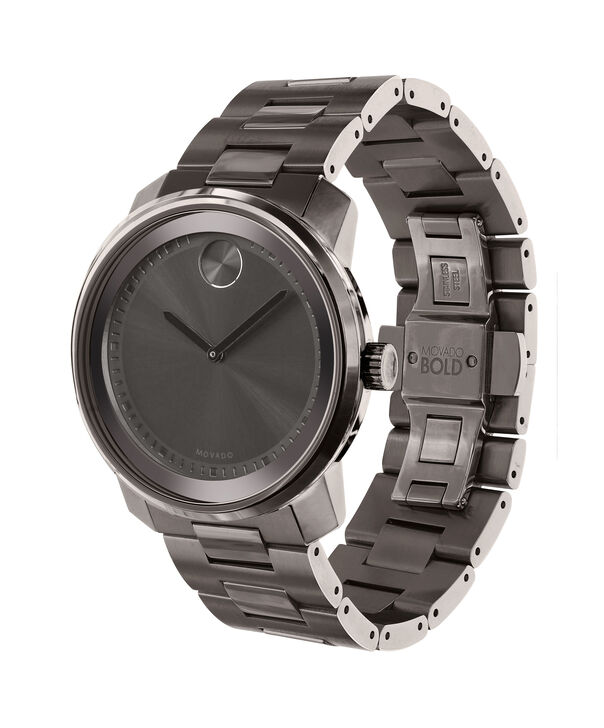 MOVADO Movado BOLD3600259 – 42.5 mm Metals bracelet watch - Side view