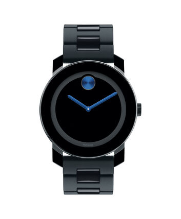 MOVADO Movado BOLD3600099 – 42 mm TR90 bracelet watch - Front view