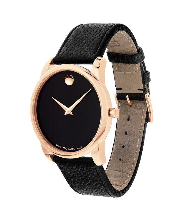 MOVADO Museum Classic0607060 – Men's 40 mm strap watch - Side view