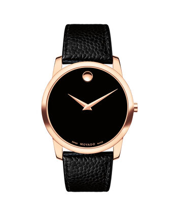 MOVADO Museum Classic0607060 – Men's 40 mm strap watch - Front view