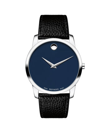 MOVADO Museum Classic0607013 – Men's 40 mm strap watch - Front view