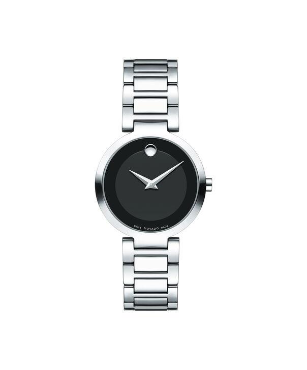 MOVADO 现代经典 (Modern Classic)0607101 – 女士28毫米表链腕表 - 正视图