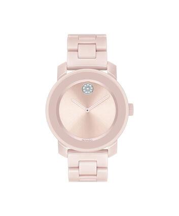 MOVADO Movado BOLD3600536 – 36 mm ceramic bracelet watch - 正视图