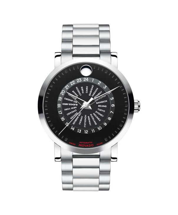 摩凡陀   瑞红男士不锈钢日历表盘自动腕表