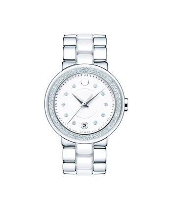 MOVADO Cerena0606625 – Women's 36 mm bracelet watch - Front view