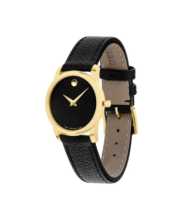 MOVADO Museum Classic0607016 – Women's 28 mm strap watch - Side view