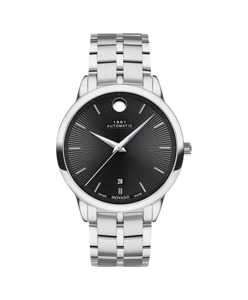 MOVADO 1881 Automatic0607461 – 39mm 1881 Automatic on Bracelet - Front view