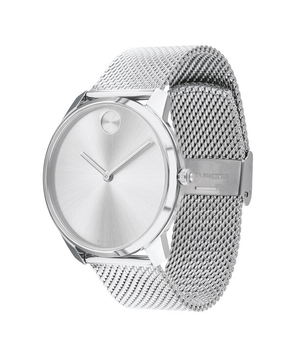 MOVADO Movado Bold3600589 – 42mm BOLD Thin on Mesh - 侧面图