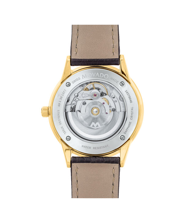 MOVADO 1881 Automatic0607021 – Men's 39.5 mm automatic 3-hand - Back view