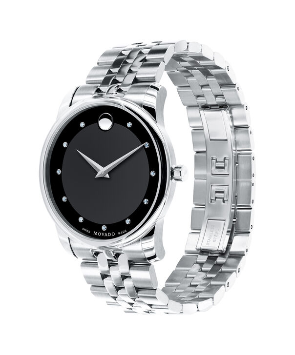 MOVADO Museum Classic0606878 – Men's 40 mm bracelet watch - Side view
