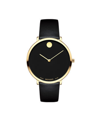 MOVADO 70th Anniversary0607137 – Mid-Size 35 mm strap watch - Front view