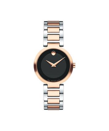 MOVADO 现代经典 (Modern Classic)0607134 – 女士28毫米表链腕表 - 正视图
