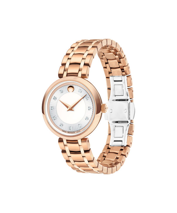 MOVADO 1881 Quartz0607100 – Women's 28 mm quartz 2-hand - Side view