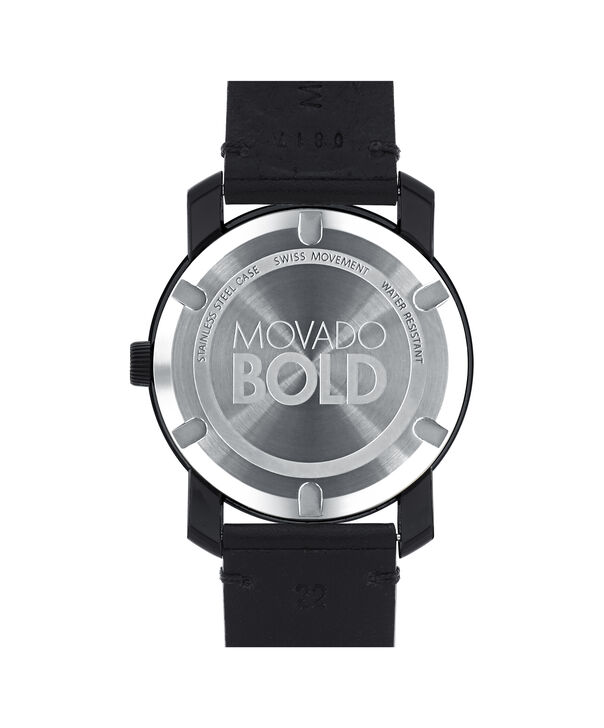 MOVADO 摩凡陀波特 (Movado Bold)3600307 – 42毫米科罗拉多皮带款 - 后视图