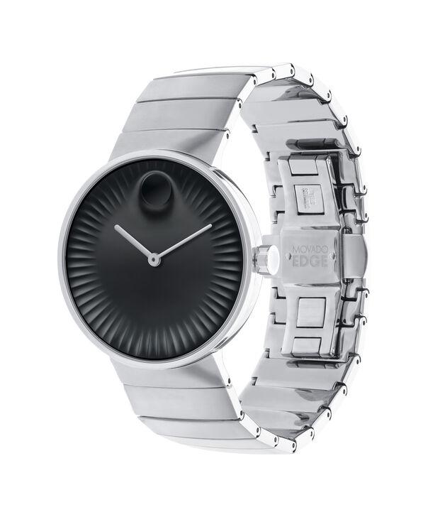 MOVADO 摩凡陀瑞界系列 (Movado Edge)3680006 – 男士40毫米钢带腕表 - 侧面图