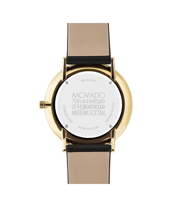 MOVADO 博物馆表盘70周年纪念款 (70th Anniversary)0607135 – 男士40毫米皮带腕表 - 后视图