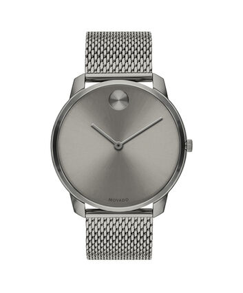 MOVADO Movado Bold3600599 – 42mm BOLD Thin on Mesh - Front view