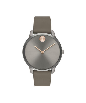MOVADO Movado BOLD3600593 – 35mm BOLD Thin on Strap - Front view