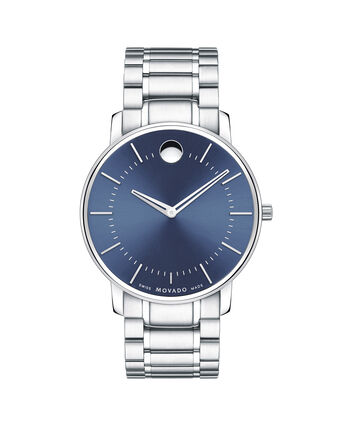 MOVADO Movado Thin Classic0606688 – Men's thin 40 mm bracelet watch - Front view