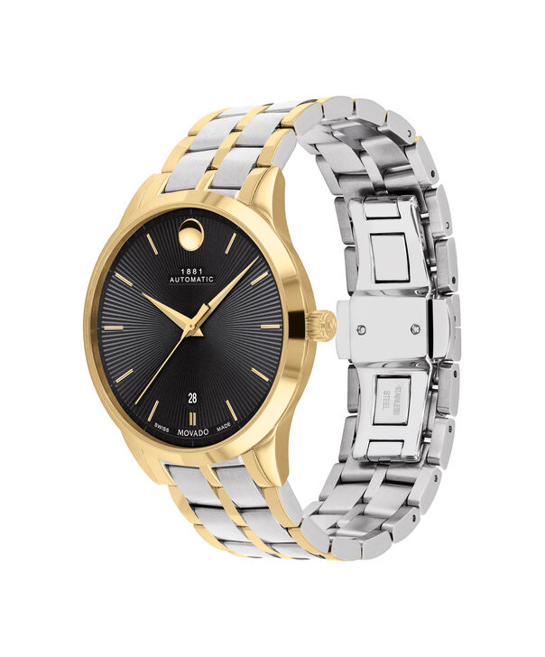 MOVADO 1881 Automatic0607463 – 39mm 1881 Automatic on Bracelet - 侧面图
