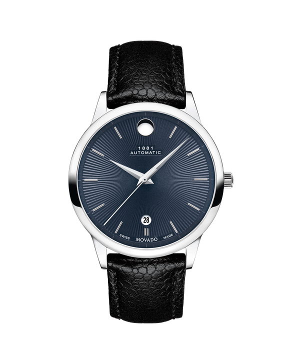 MOVADO 1881 Automatic0607454 – 39mm 1881 Automatic on Strap - 正视图