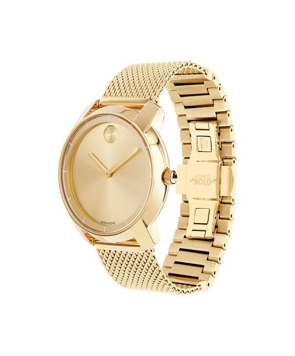MOVADO Movado BOLD3600242 – 36 mm flat mesh bracelet watch - Side view
