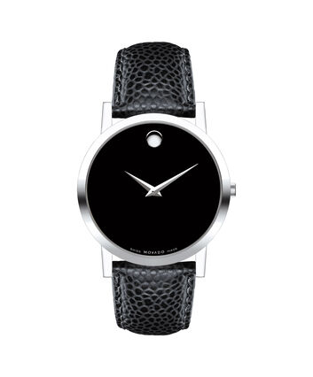 MOVADO Museum Classic0606179 – Men's 38 mm strap watch - Front view
