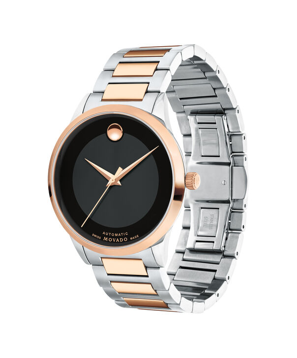 MOVADO Modern Classic0607133 – Men's 39.5 mm automatic 3-hand - Side view