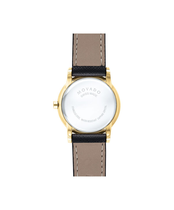 MOVADO Museum Classic0607205 – Women's 28 mm strap watch - Back view