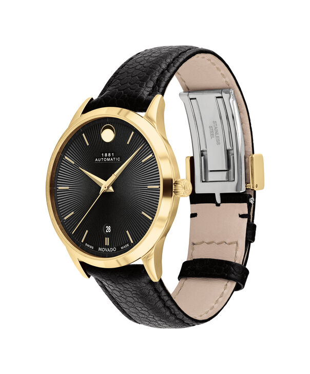 MOVADO 1881 Automatic0607455 – 39mm 1881 Automatic on Strap - 侧面图