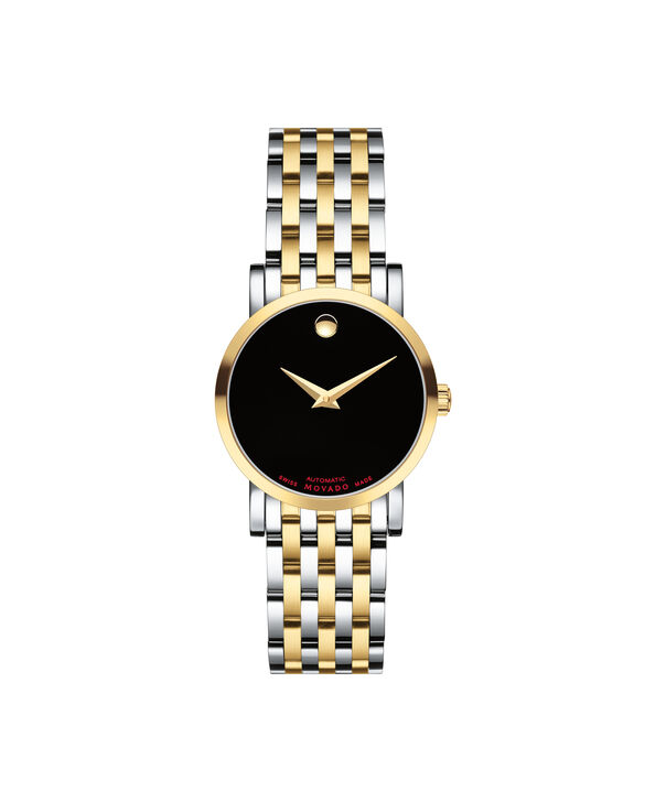 MOVADO Red Label0607011 – Women's 26 mm automatic strap watch - Front view