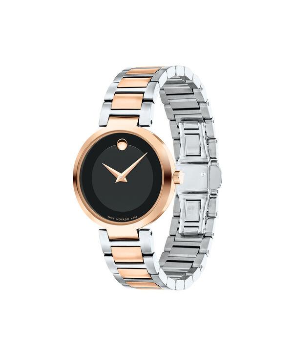 MOVADO 现代经典 (Modern Classic)0607134 – 女士28毫米表链腕表 - 侧面图