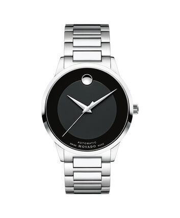 MOVADO Modern Classic0607132 – Men's 39.5 mm automatic 3-hand - Front view