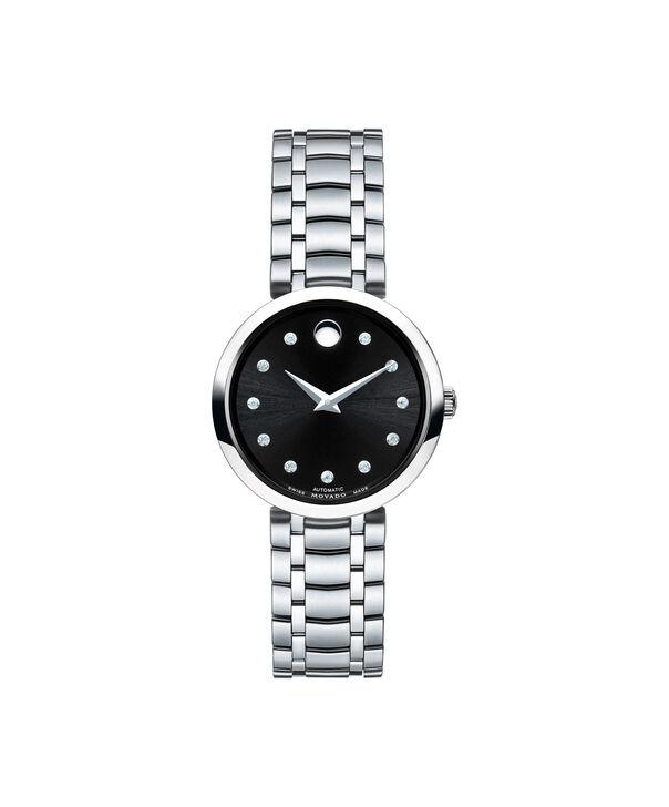 摩凡陀 | 瑞动黑色表盘自动机械钢带腕表